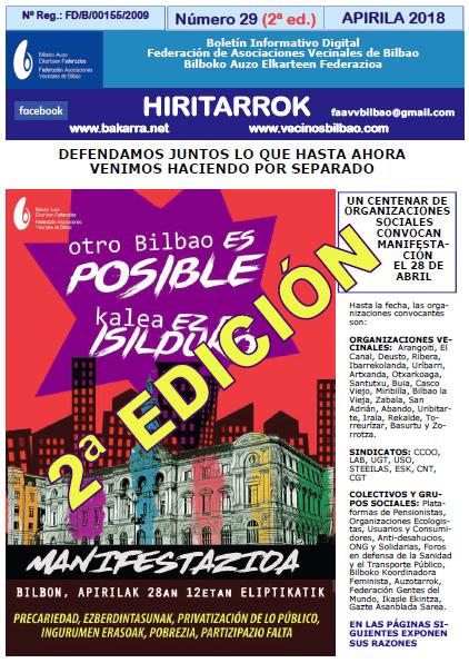 Hiritarrok 29 ed 2