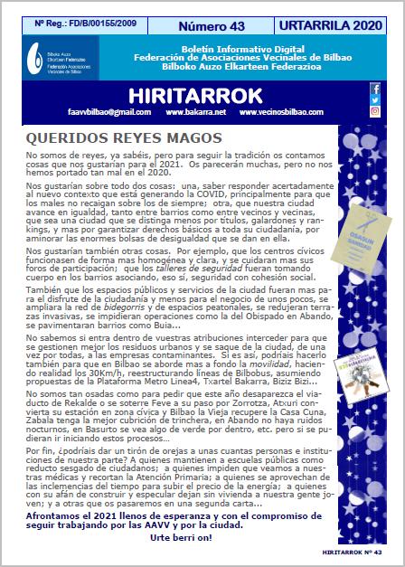 Hiritarrok 43
